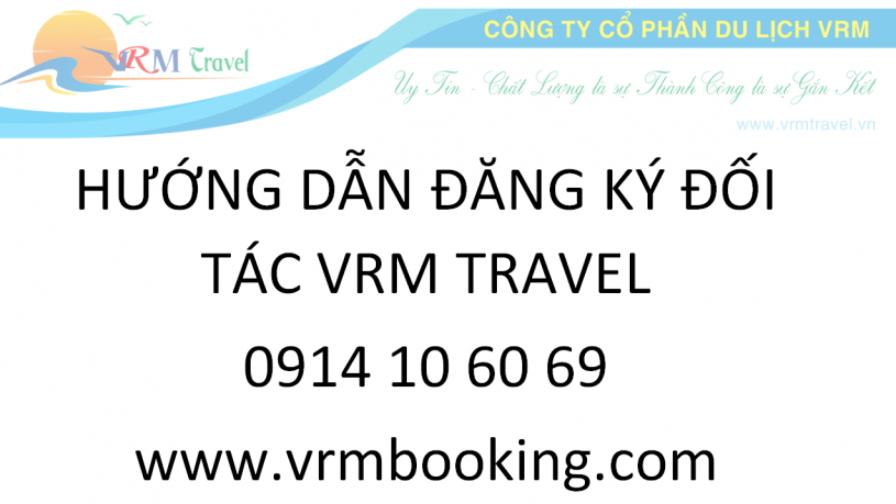 dang ky doi tac vrm travel